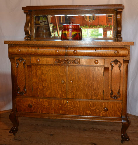 Barn on 26 Featured Item: Oak Buffet/Server
